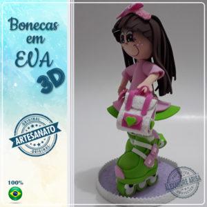 PATINADORA-3 EM EVA 3D