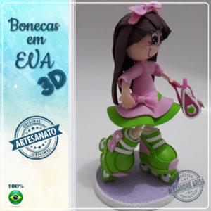 PATINADORA-4 EM EVA 3D